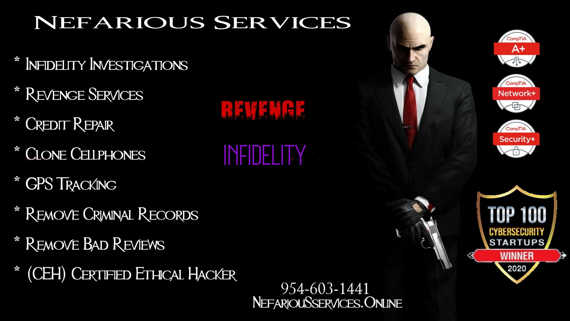 Revenge For Hire Services