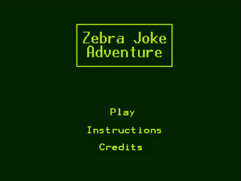 Zebra Joke Adventure