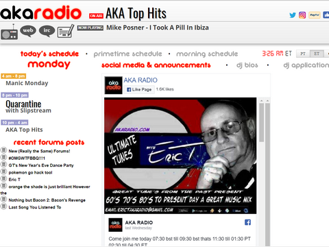 AKA Radio - Uncensored Net Radio