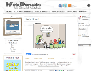 WebDonuts -Clean Online Cartoons by Gruhn