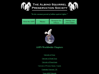 Albino Squirrel Preservation Society