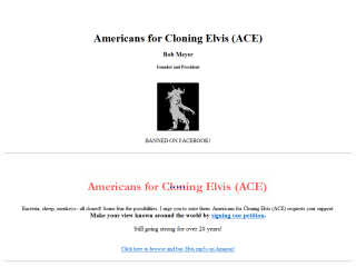 Americans for Cloning Elvis (ACE)