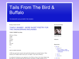 Tails From The Bird & Buffalo