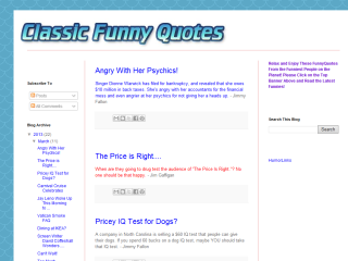 Classic Funny Quotes