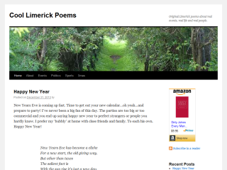 Cool Limerick Poems