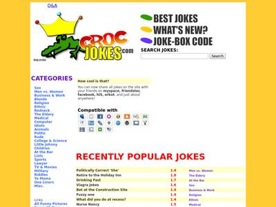 CrocJokes.com - Dirty Zone