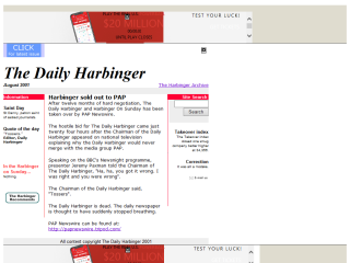 The Daily Harbinger