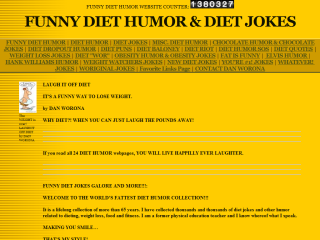 DIET HUMOR, DIET JOKES, DIET PUNS & QUOTE
