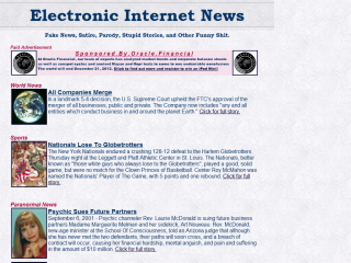 Electronic Internet News