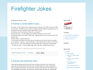 Firefighter Jokes