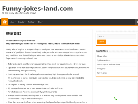 Funny Jokes land