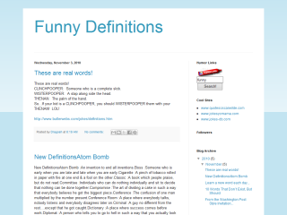 Funny Definitions