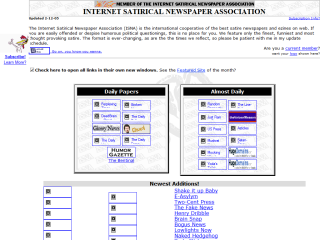 Internet Satirical Newspaper Association
