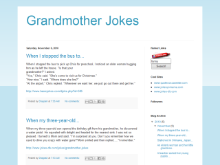 Grandmother Jokes