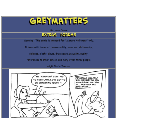 Grey Matters - The Comic Strip