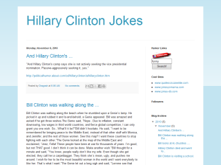 Hillary Clinton Jokes