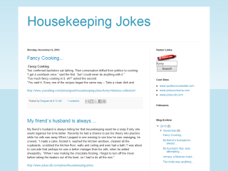 Housekeeping Jokes