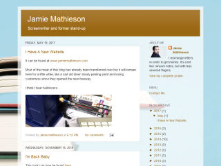 Jamie Mathieson Official Site