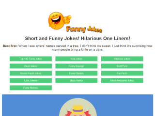 Short and Funny Jokes! Hilarious One Liners!