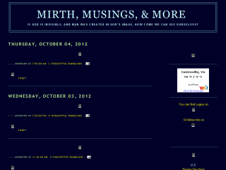 Mirth, Musings, & More