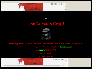 The Comic's Crypt