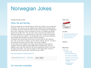 Norwegian Jokes
