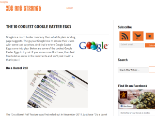 The 10 Coolest Google Easter Eggs