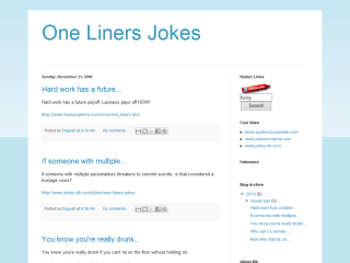 One Liners Jokes