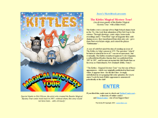 The Kittles Magical Mystery Tour!