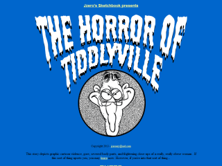The Horror of Tiddlyville!