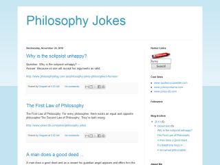Philosophy Jokes