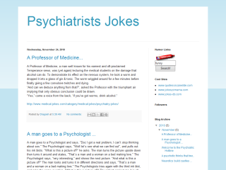Psychiatrists Jokes