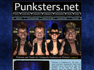 Punksters.net Comic Strip