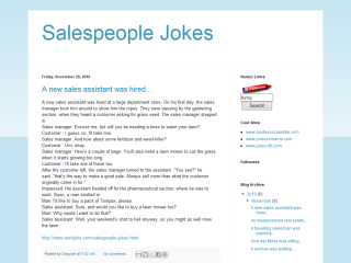 Salespeople Jokes