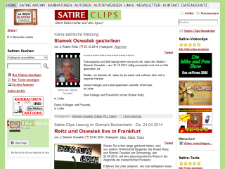 Satire | Lachen |  Humor |  Satire-Clips.de