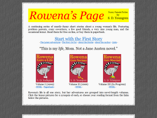 Rowena's Page -- Funny Female Fiction