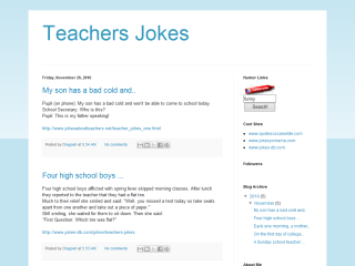 Teachers Jokes