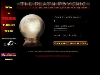 The Death Psychic!