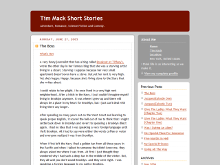 Tim Mack Stories