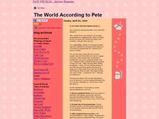 The World According to Pete