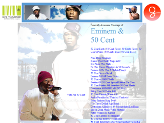 50 Cent & Eminem Humor Fan Site