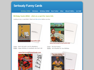 Seriously Funny Cards