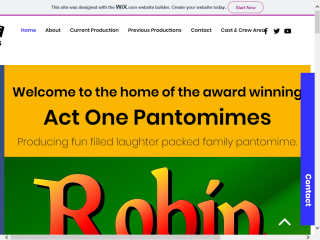 Act One Pantomimes