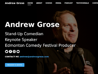 The Official Homepage of Comedian Andrew Grose