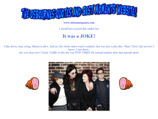 The Osbournes Quotes and Best Moments Website