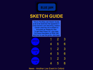 Blue Jam Sketch Guide