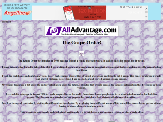 The Grape Order!