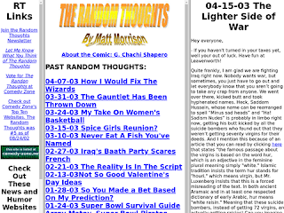 The Random Thoughts