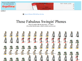 Those Fabulous Swingin' Phones - Listen and Watch them Dance!