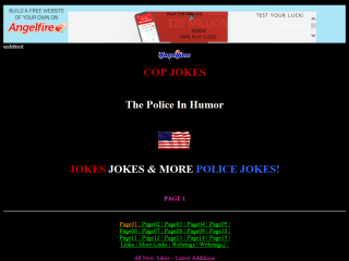 COP JOKES - The Police In Humor